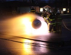 Propane Live Fire Training